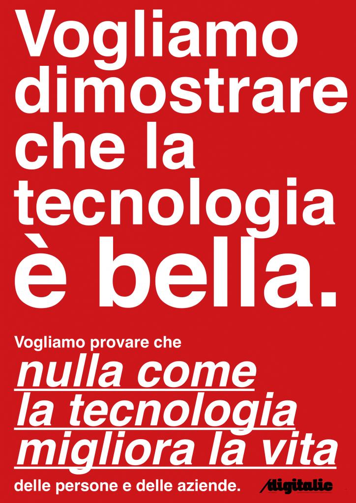 Digitalic: quello che vogliamo