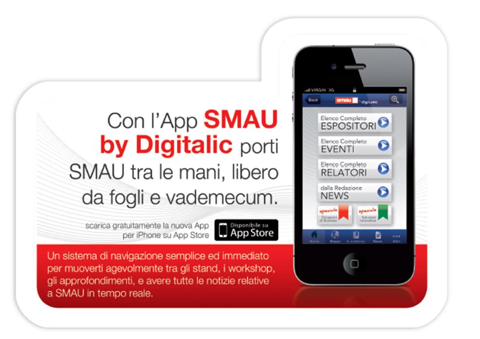 SMAU App by Digitalic, un Evento in una App