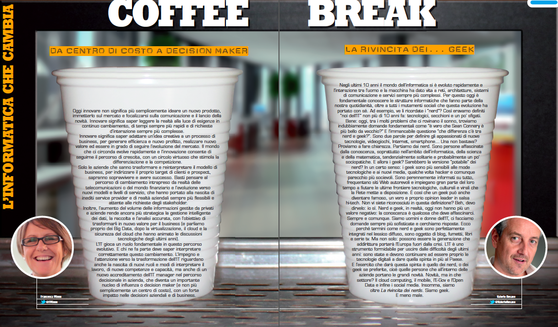 Coffee Break – L'informatica che cambia