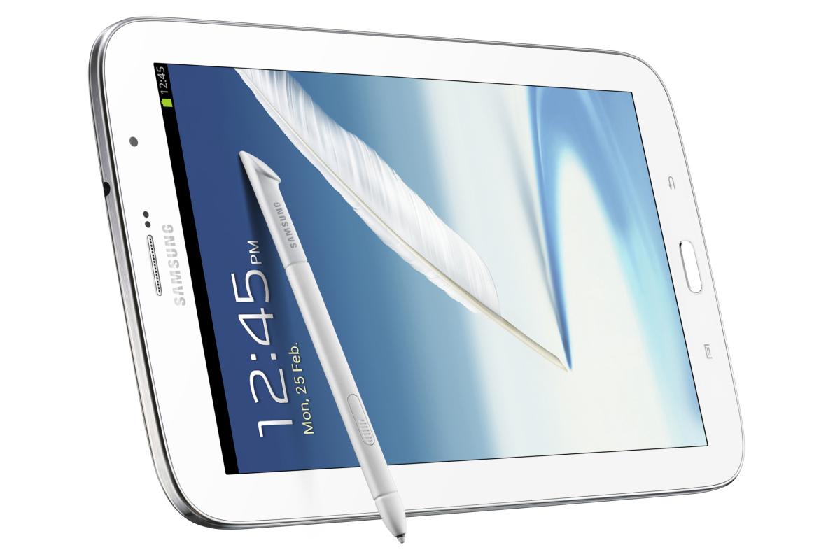 Samsung Galaxy Note 8 all'attacco dell'iPad