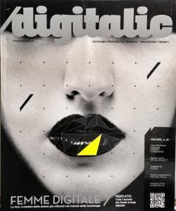 Cover Digitalic 21 – Innovazione, singolare femminile