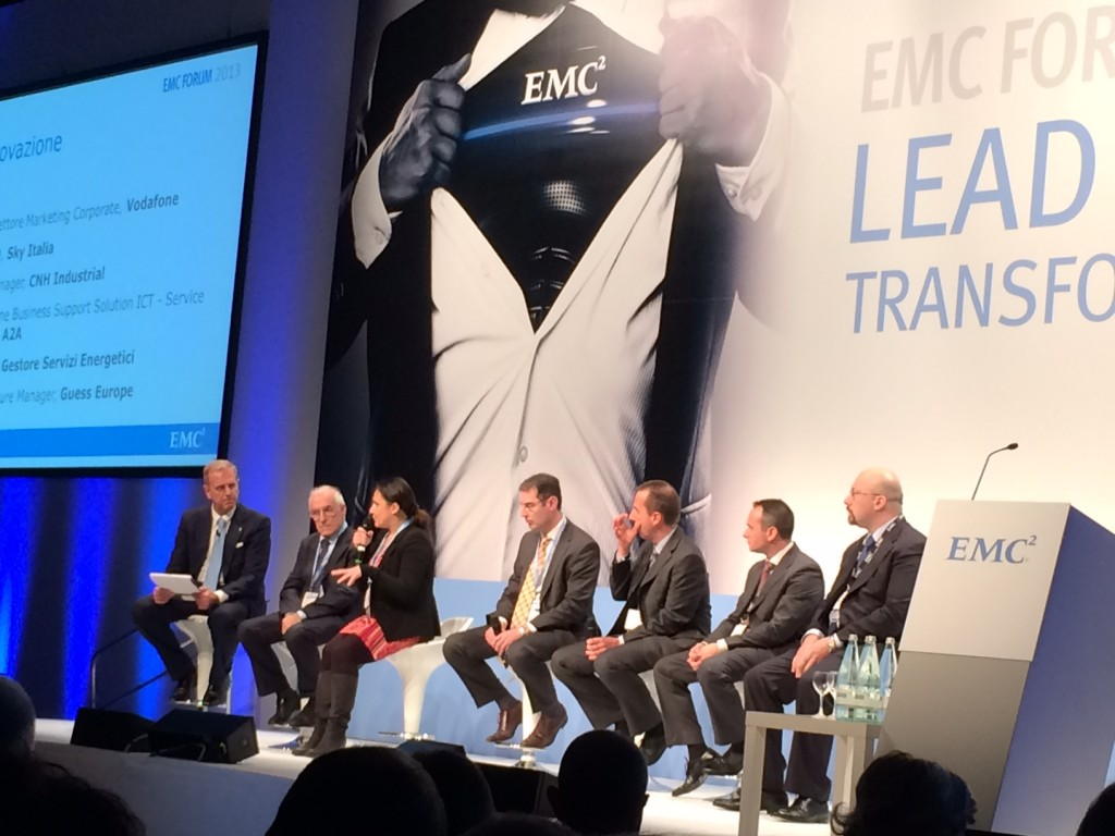 Trasformazione nell'innovazione con a EMC