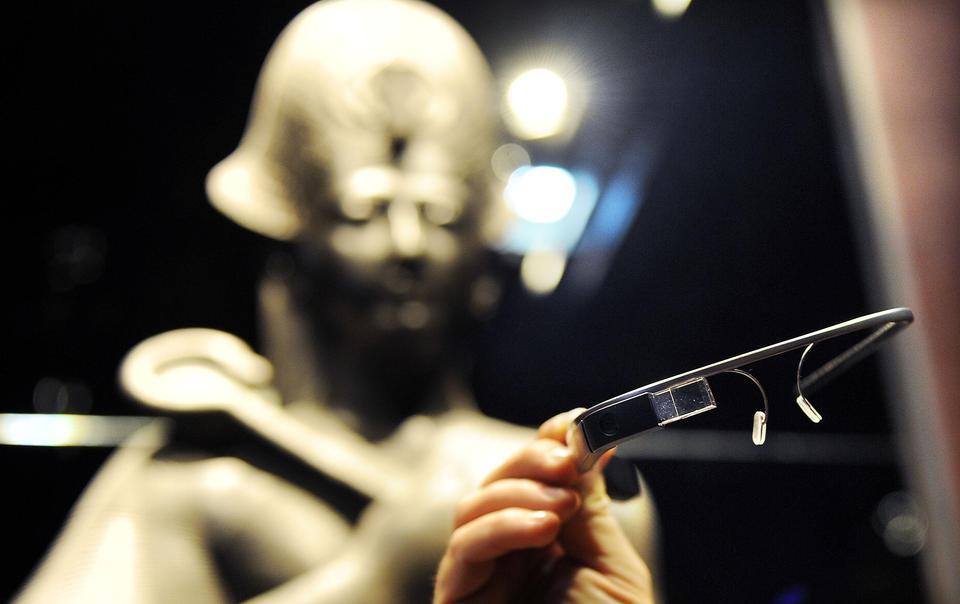 I Google Glass debuttano al Museo Egizio