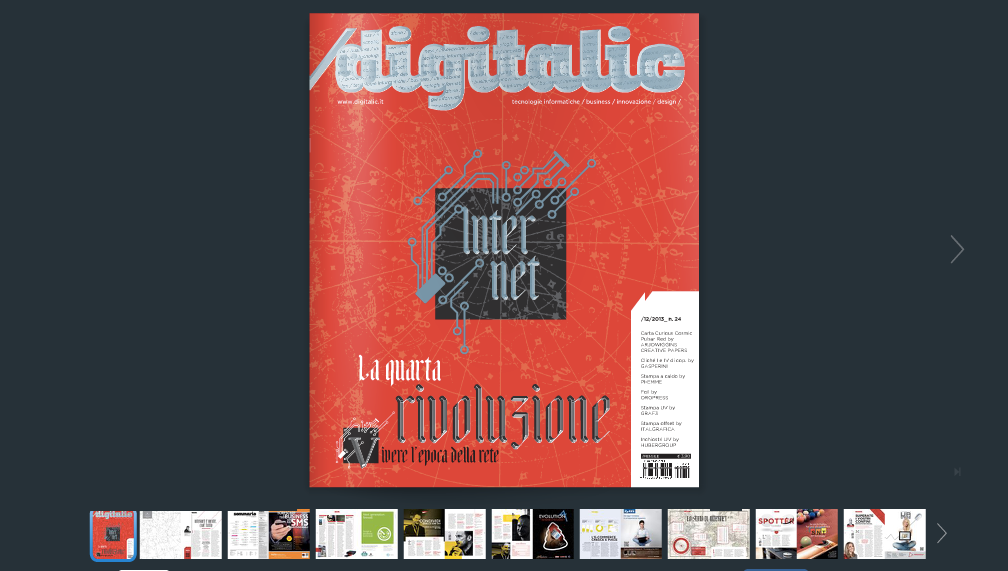 Digitalic n. 24 – Internet: la quarta rivoluzione