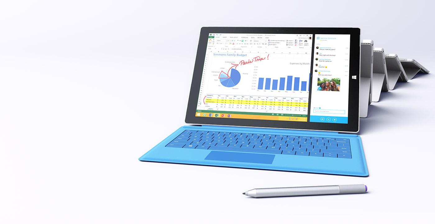 Ecco Microsoft Surface Pro 3