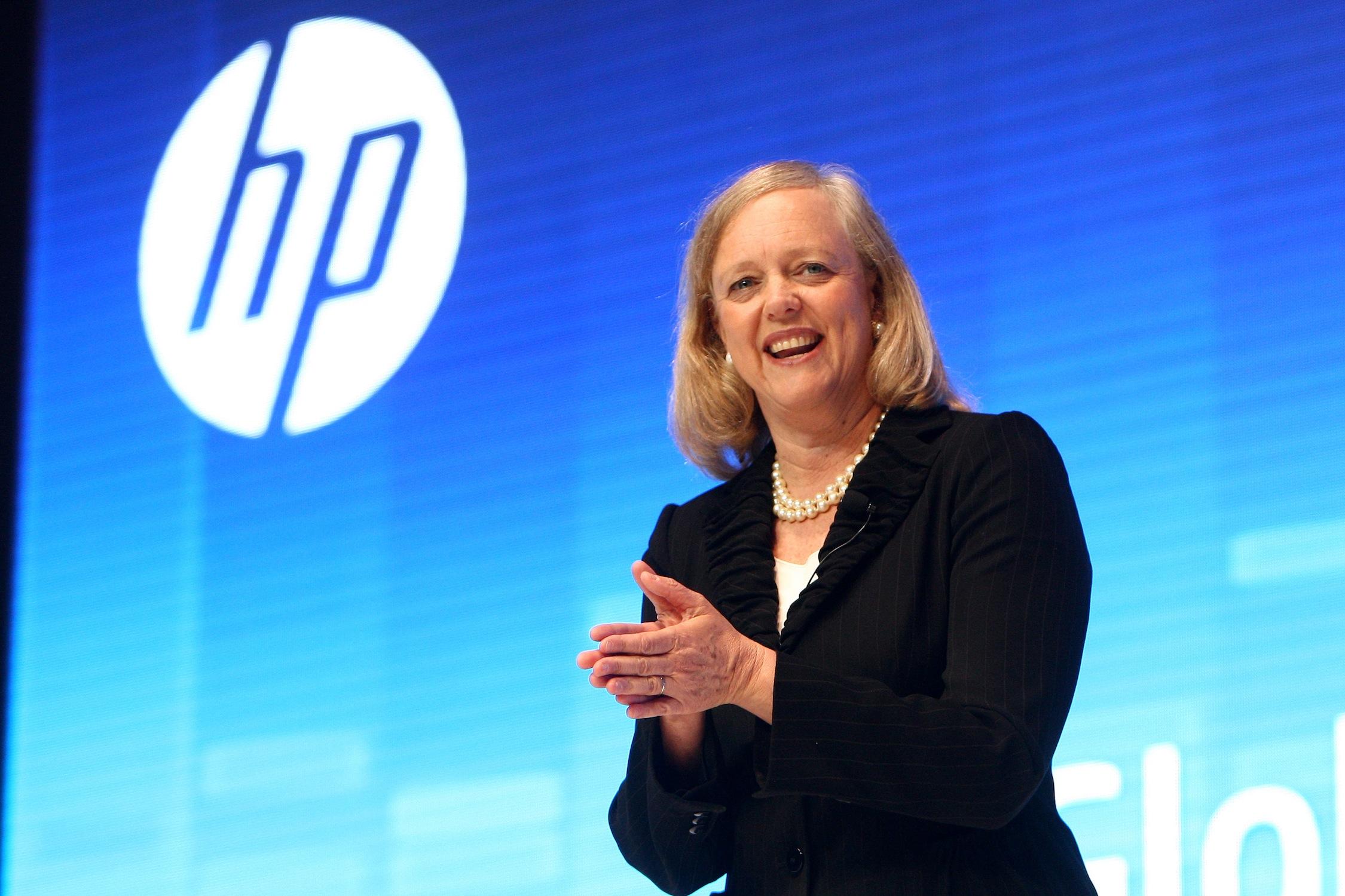 """Meg Whitman: """"Da 75 anni creiamo nuove categorie di prodotti"""" HPDiscover"""