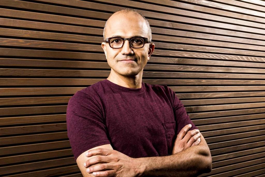 Satya Nadella 20 persone più influenti nella tecnologia
