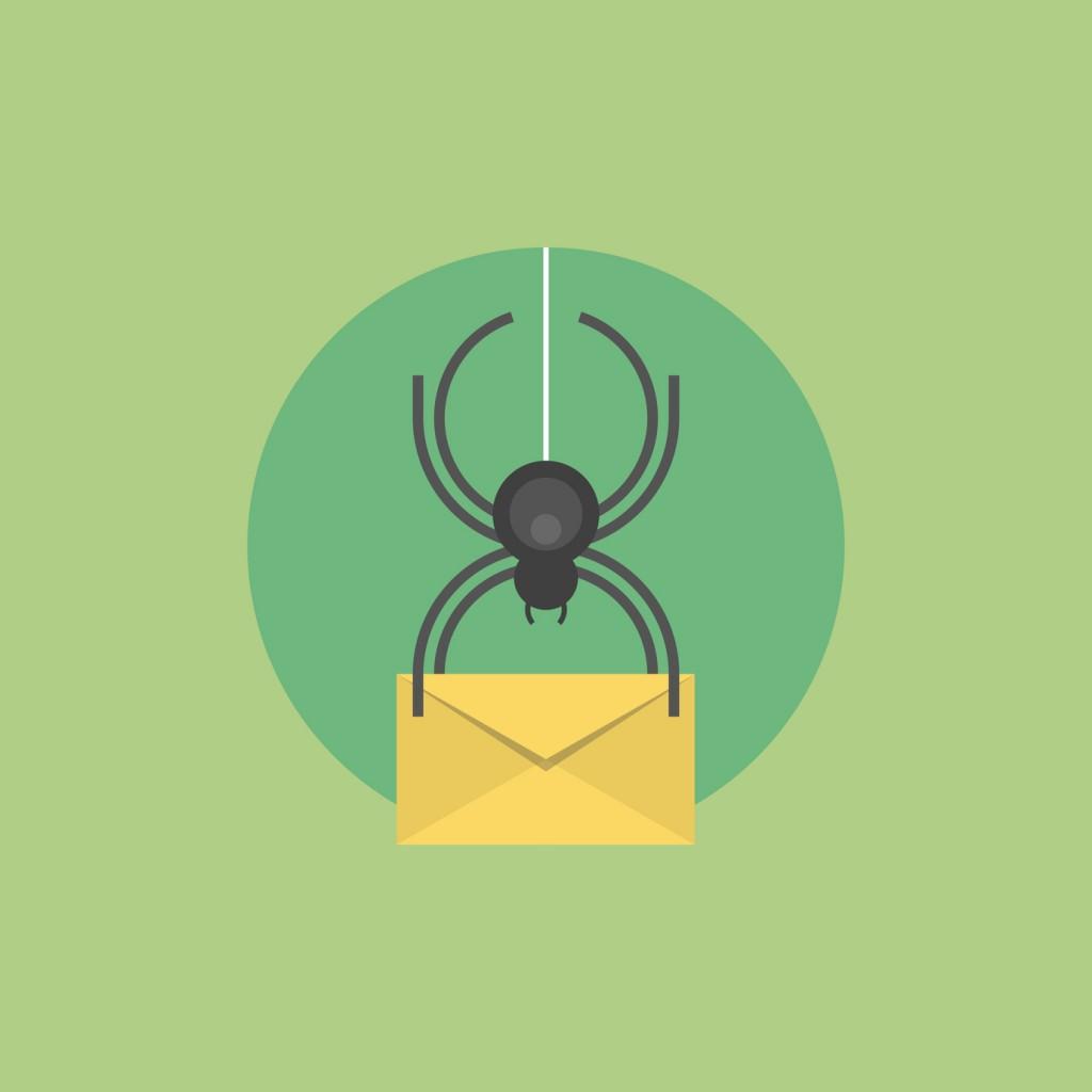 Virus attack Phishing email