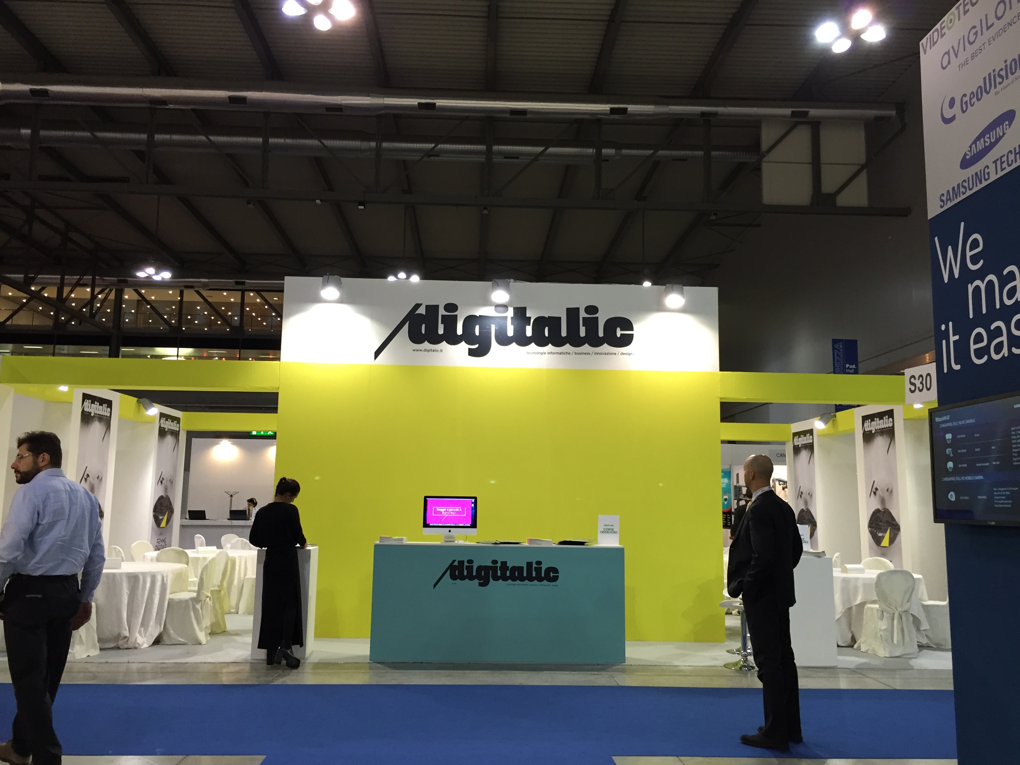 Digitalic Village alla Fiera Sicurezza 2014