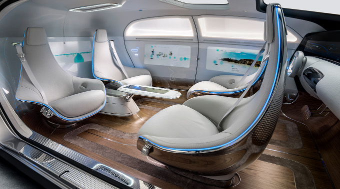 : Mercedes F 015 Luxury in Motion
