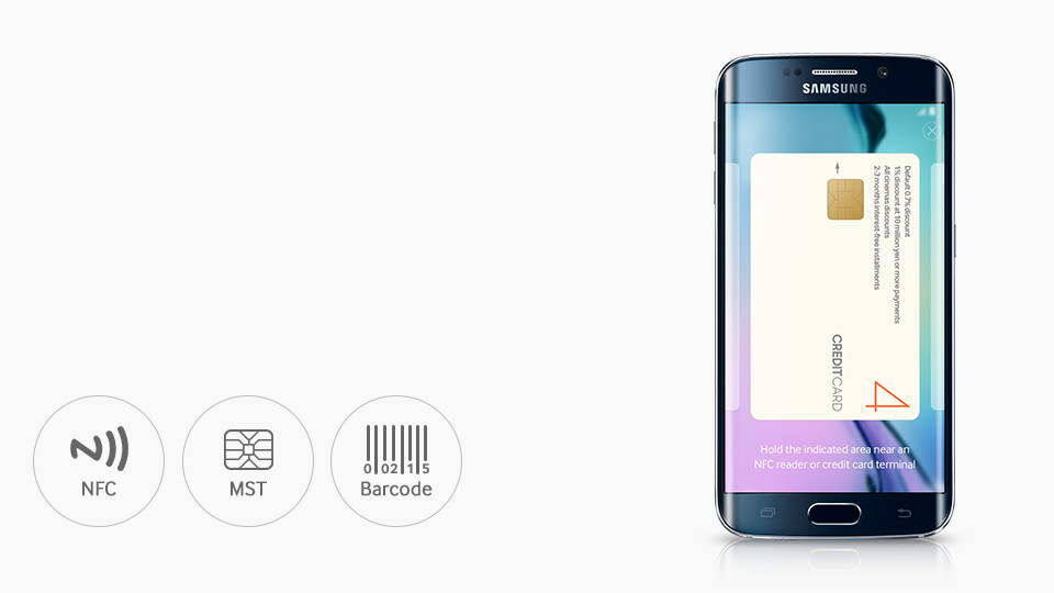 Samsung Galaxy S6 - Samsung Pay