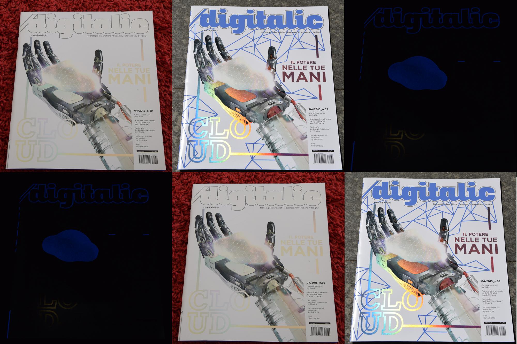 Digitalic n. 39: Cloud, il potere nelle tue mani – La cover che cambia