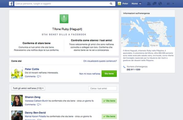 Facebook Safty Check