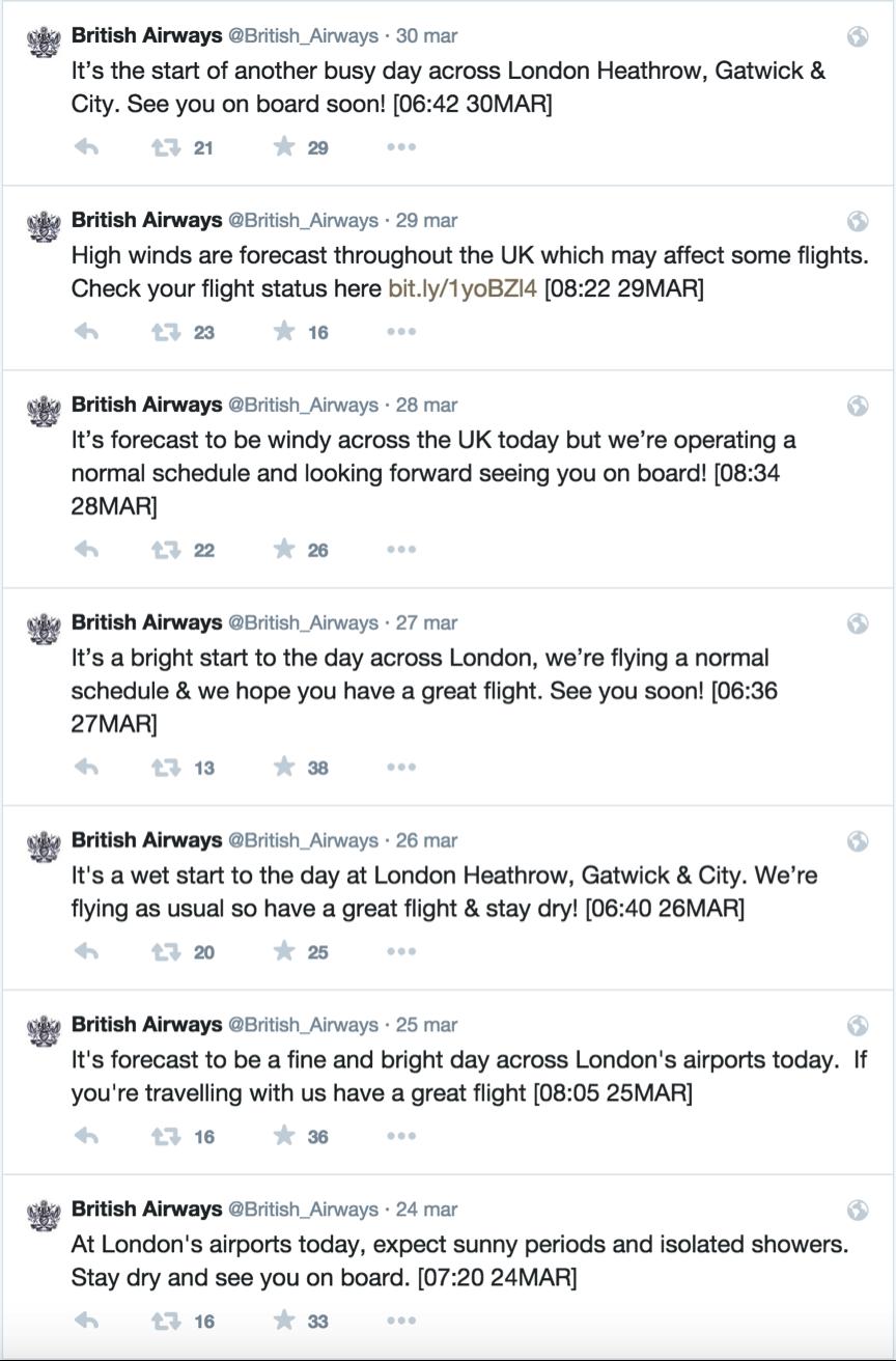 British Airlines 1