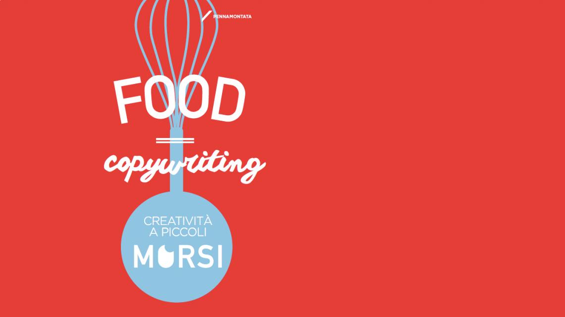 Food copywriting