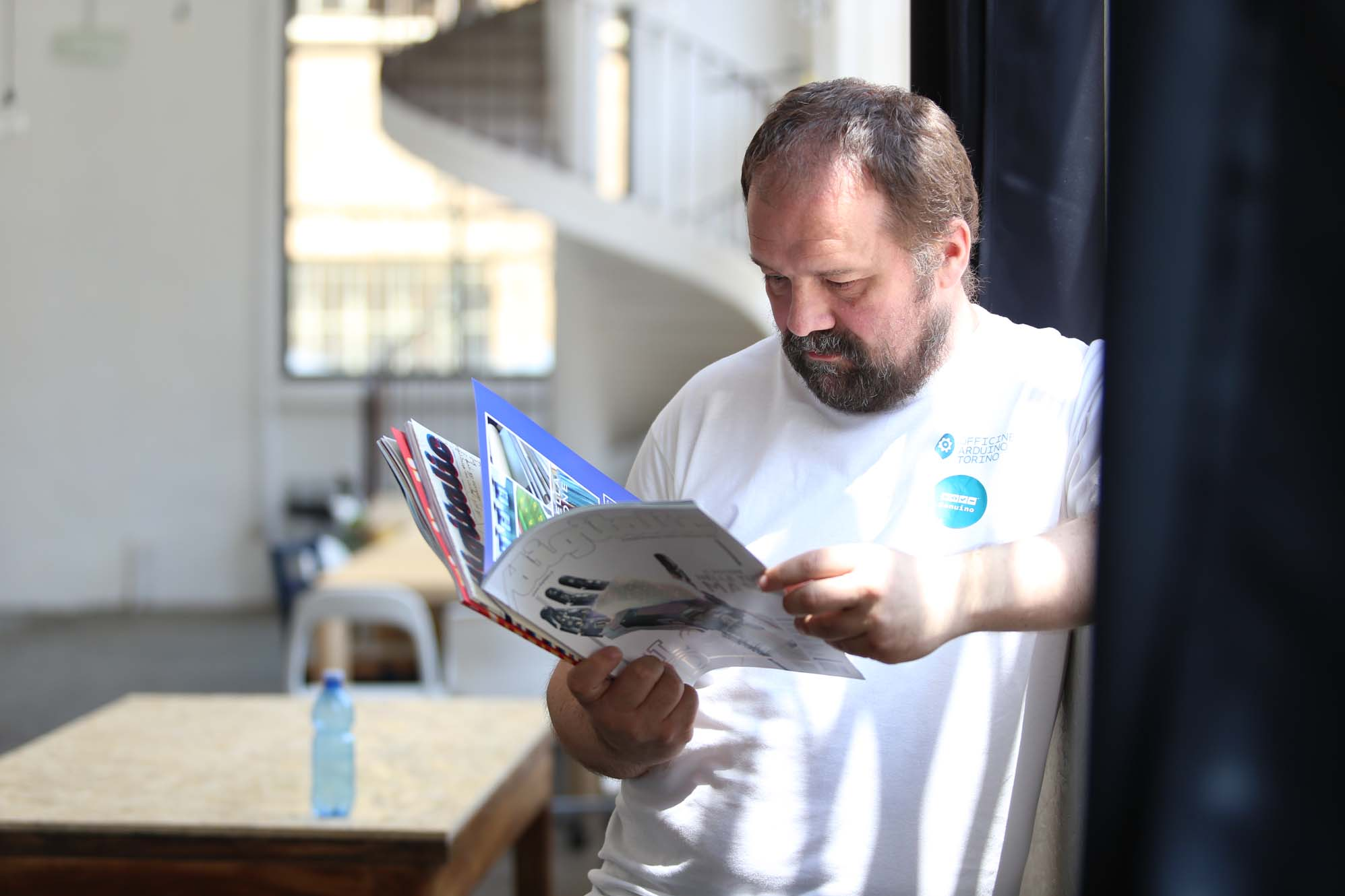 Massimo Banzi Arduino #DigiScovering #PowerdByPixartPrinting