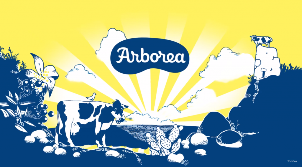Food copywriting Arborea