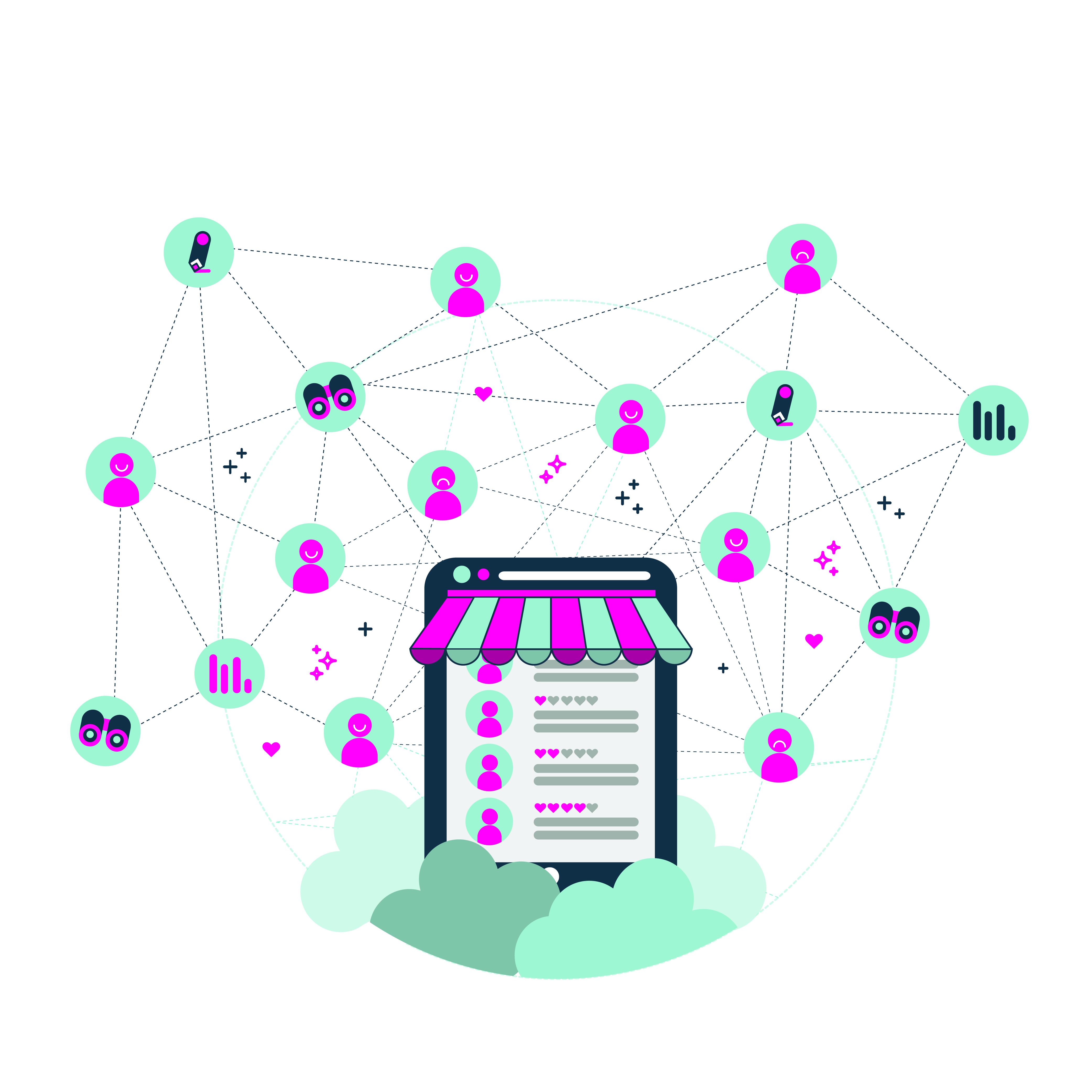 La potenza organizzativa dei social media