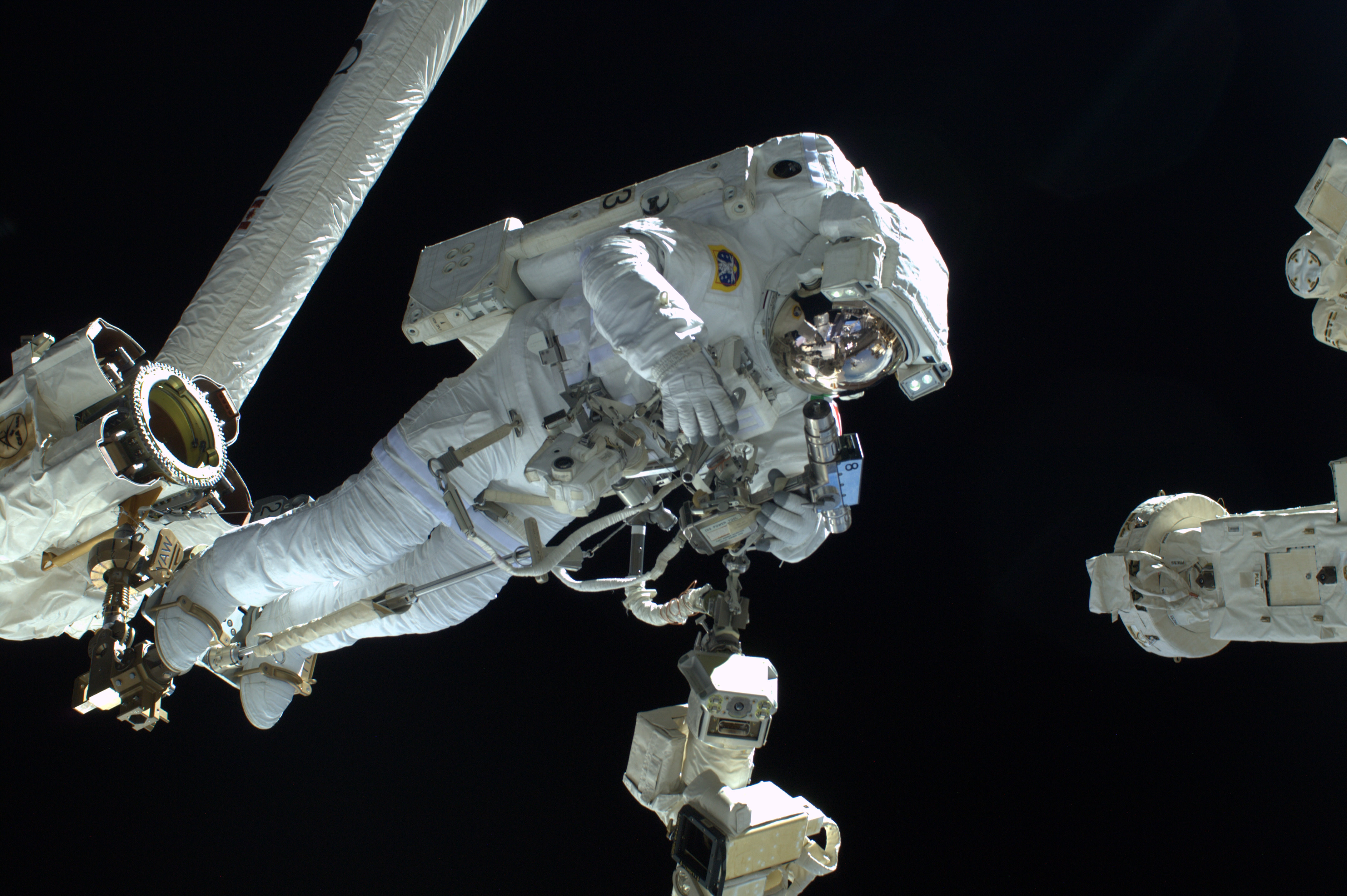 Luca Parmitano Spacewalk