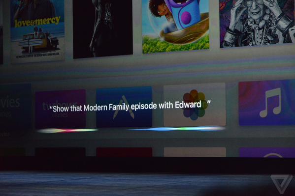 Apple TV Siri