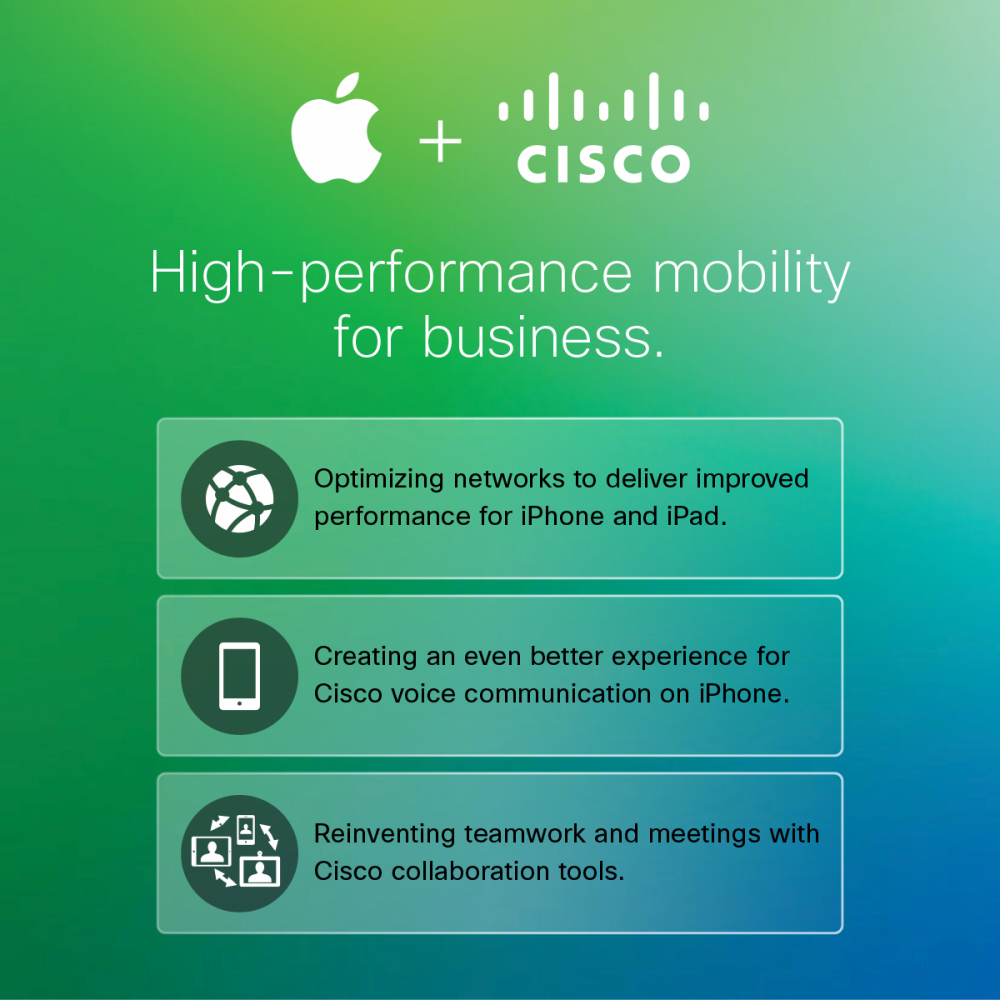 Apple And Cisco