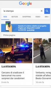 AMP Google nuovo metodo di ricerca per mobile