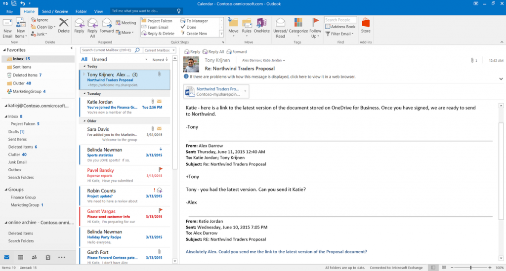 Nuovi allegati_Outlook_2016_office