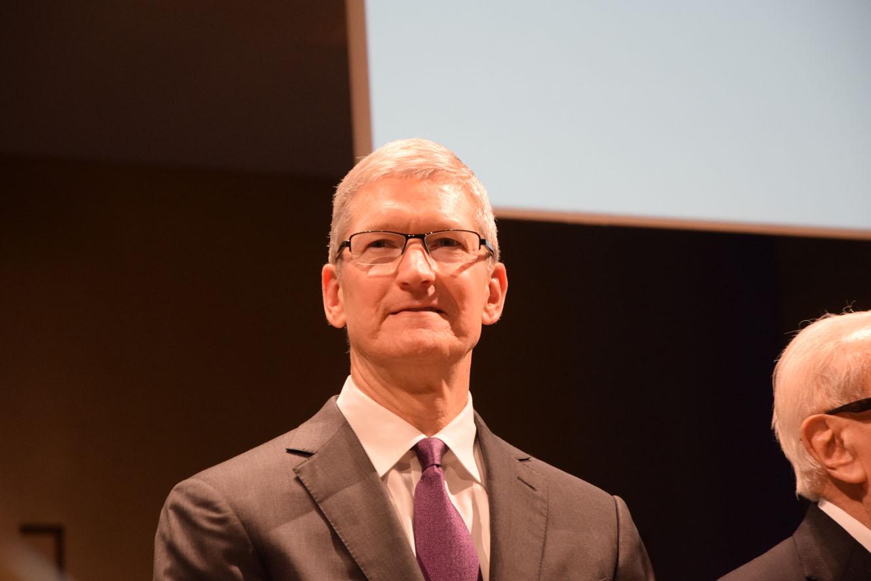 Tim Cook Bocconi Milano 20 persone più influenti nella tecnologia