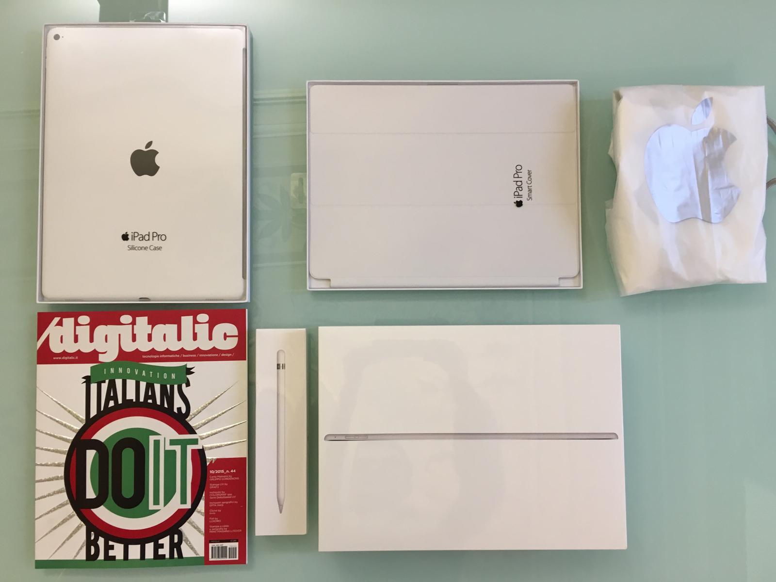 iPad Pro Gruppo Pencil