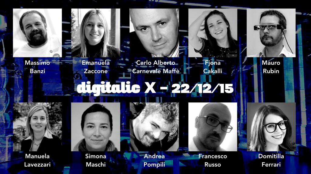 Digitalic X Ospiti