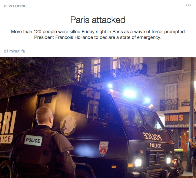 Parigi Twitter Moments