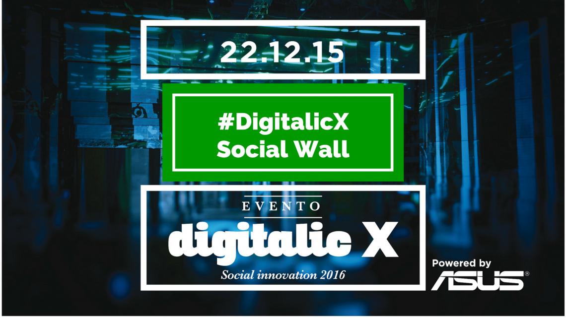 Digitalic X Social Wall