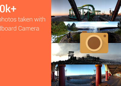 Google Cardboard fotocamera