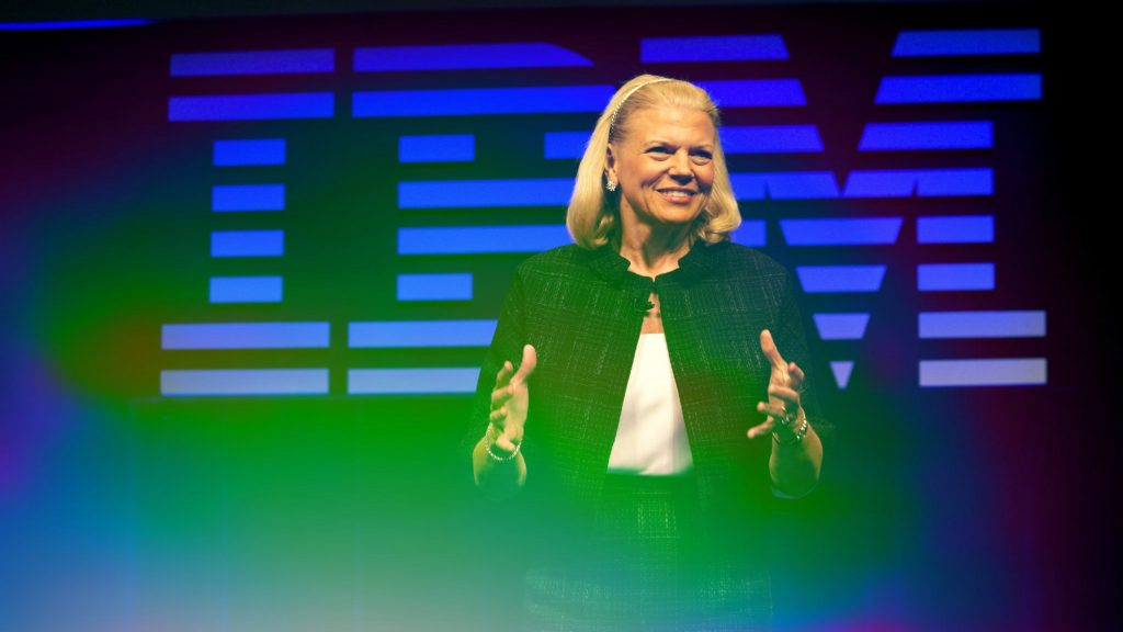 IBM Ustream Ginni Rometty