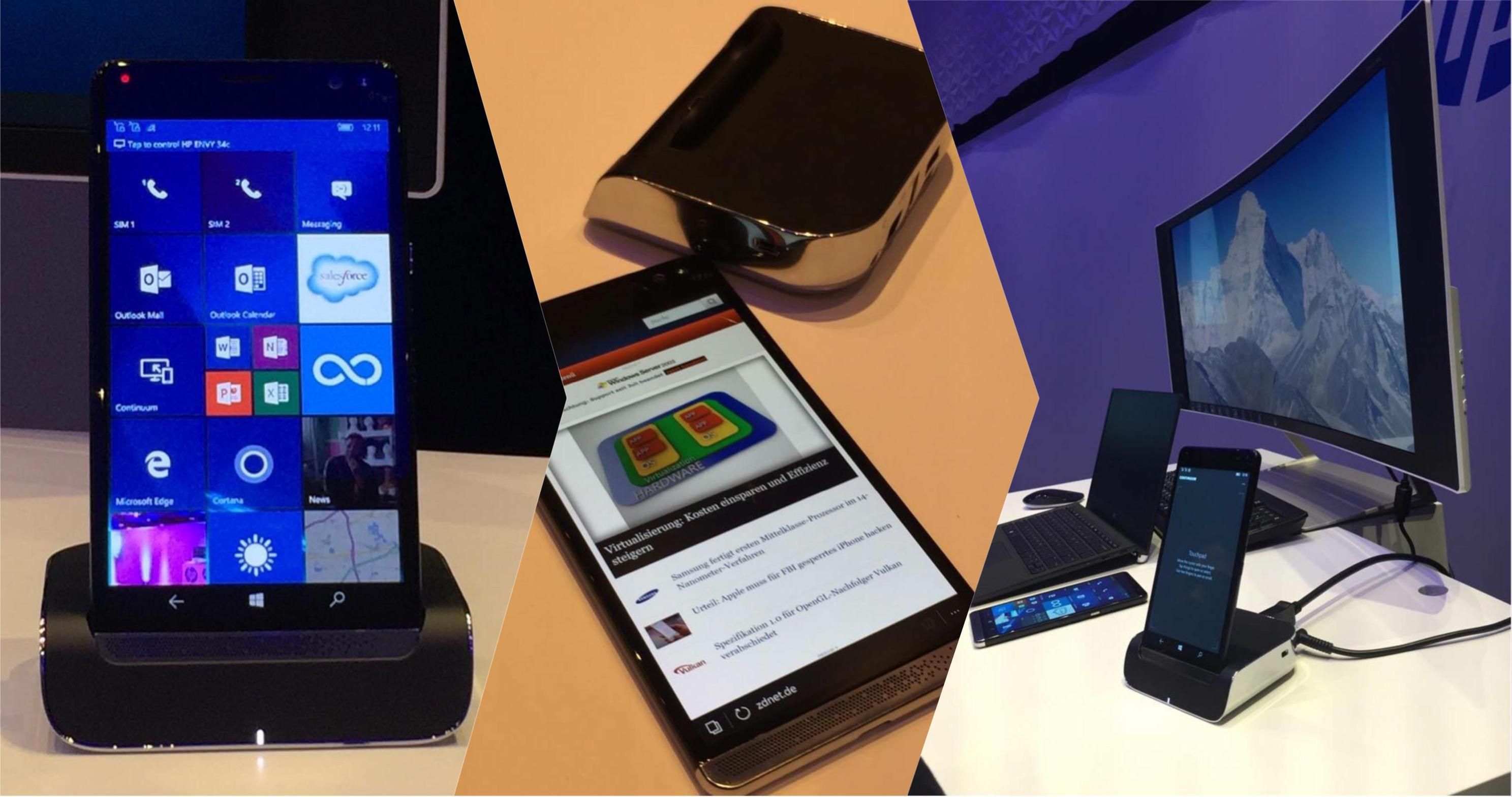 HP lancia Elite X3: lo smartphone che racchiude un desktop