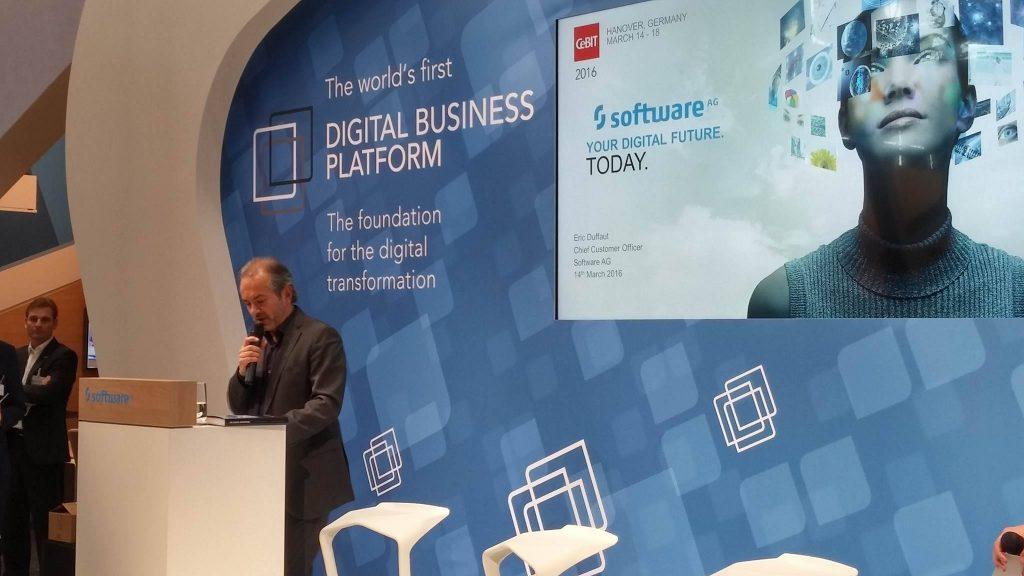 Software AG al CeBit presentazione Digital Business Platform