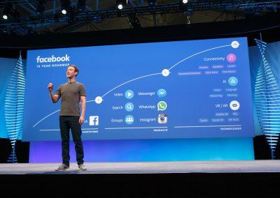 Mrrk Zuckerberg Facebook F8 2016