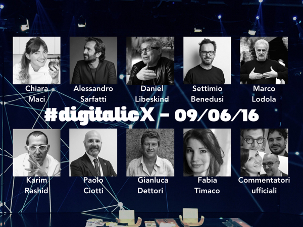 Digitalic X 9 Giugno 2016