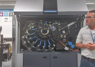 HP DigiSpagna Barcellona stampa 3D Jet Fusion 3D