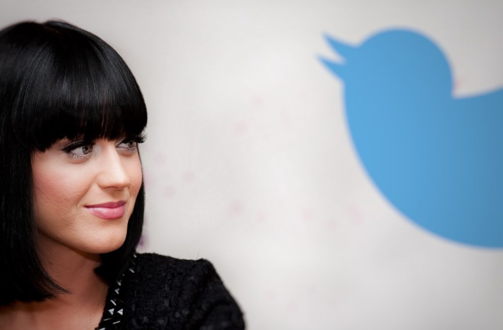 Katy Perry Twitter 90M