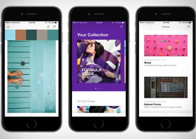 pantone studio app design digitale