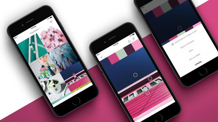 pantone studio advertsing in-app design digitale