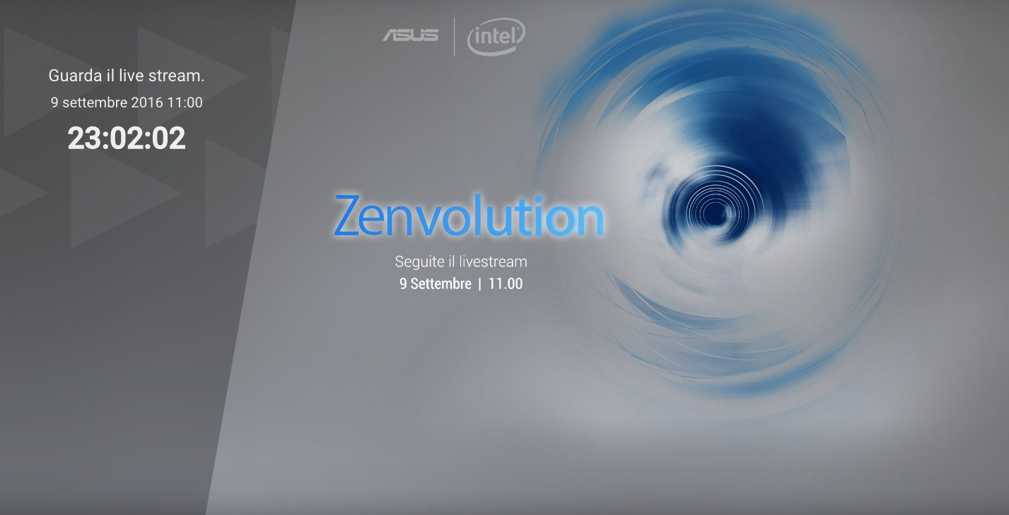 Siete pronti per l'incredibile? #Z3N arrivano le novità Asus – diretta