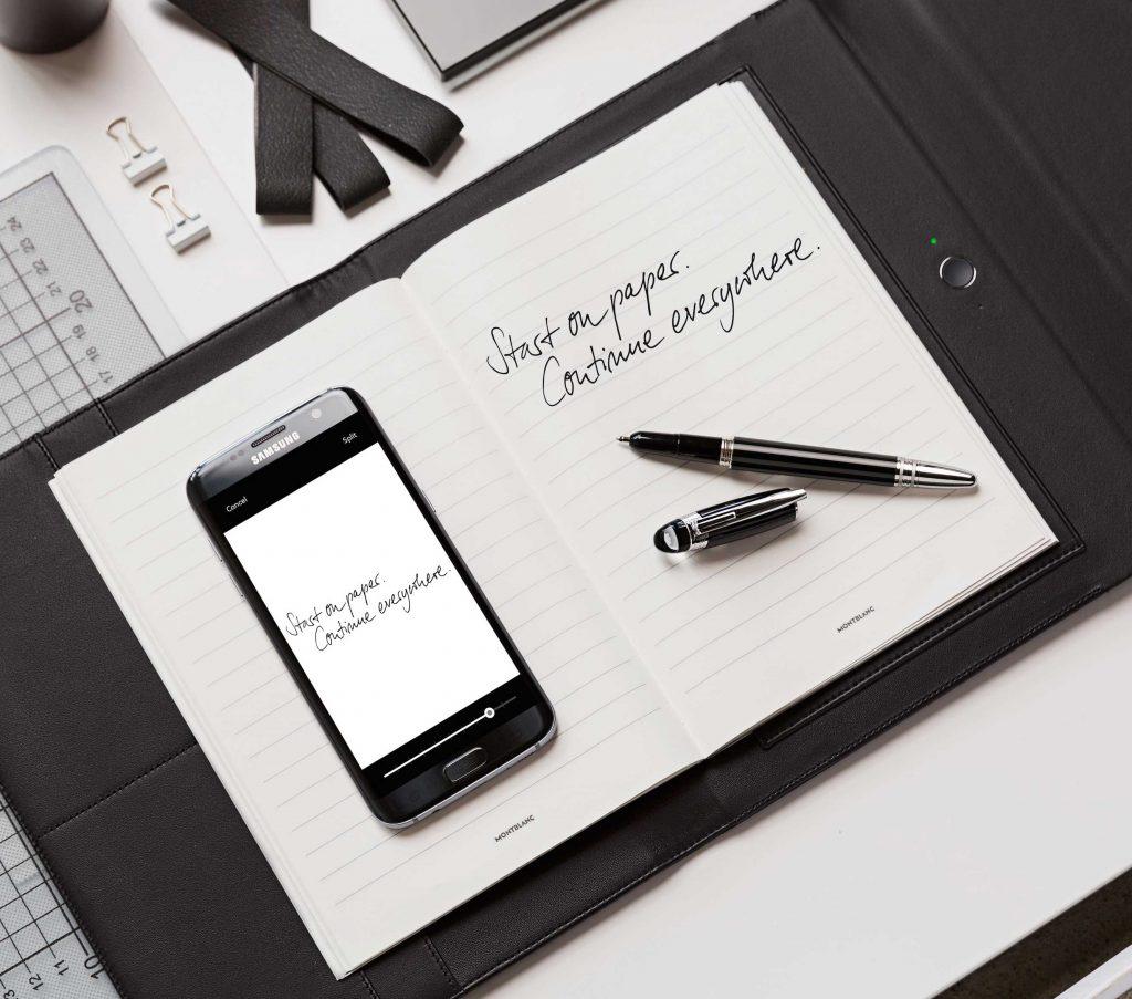 Montblanc Augmented Paper-