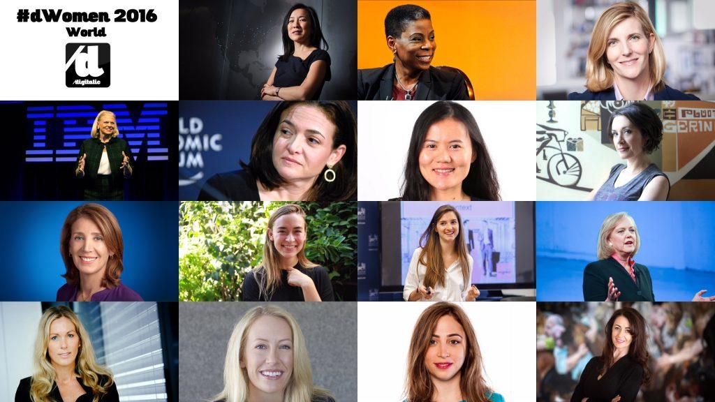 DWomen most influential Women in Tech