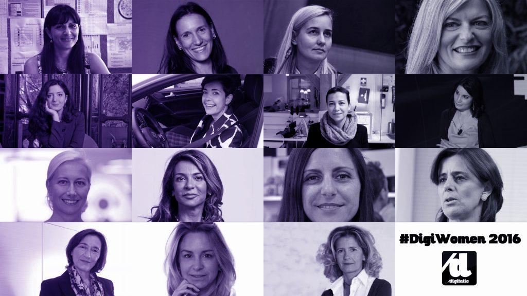 DigiWomen 2016 - Lista delle donne italiani più influenti nel Digitale
