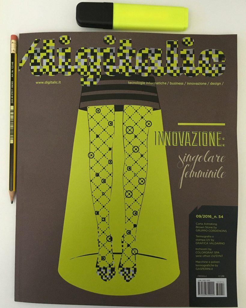 Copertina Digitalic n. 54 Innovazione singolare femminile