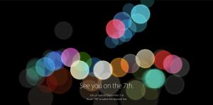 Apple Event iPhone7
