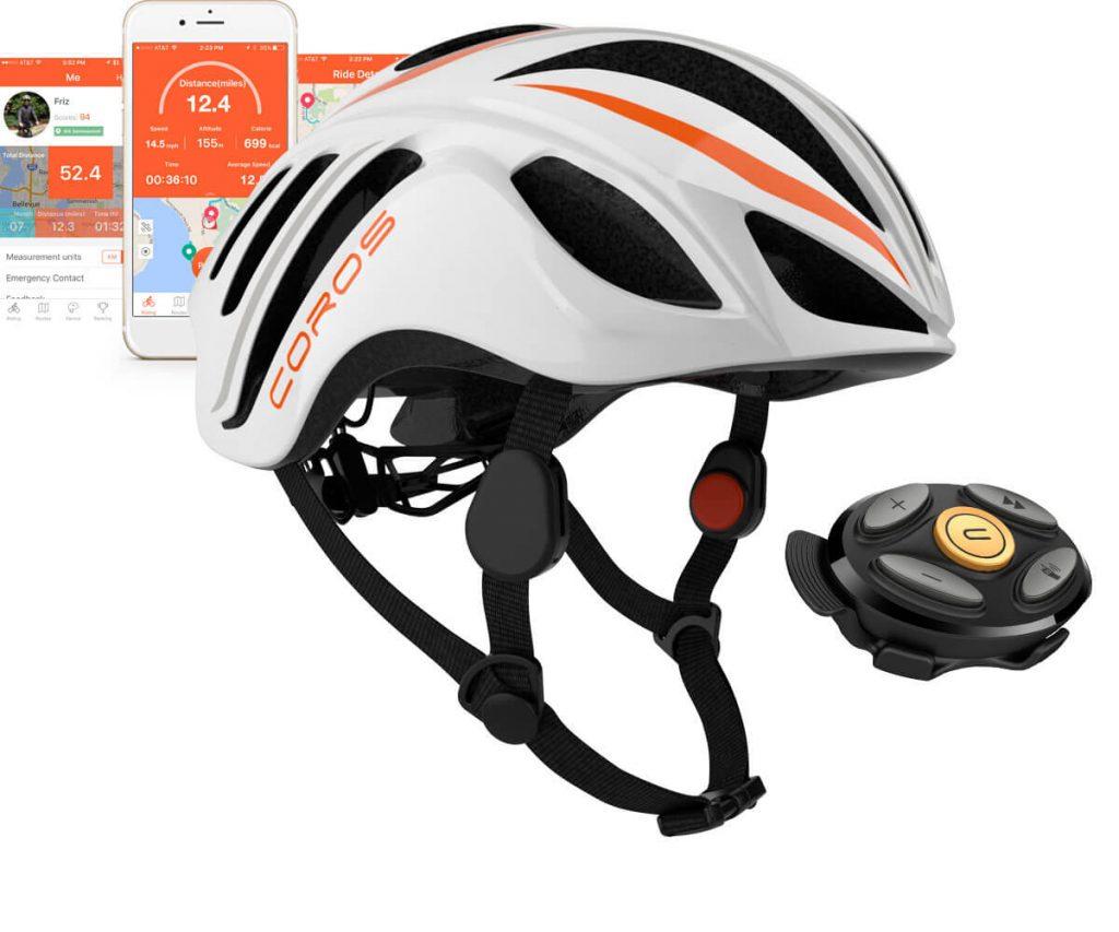 coros linx - smart - helmet bicicletta