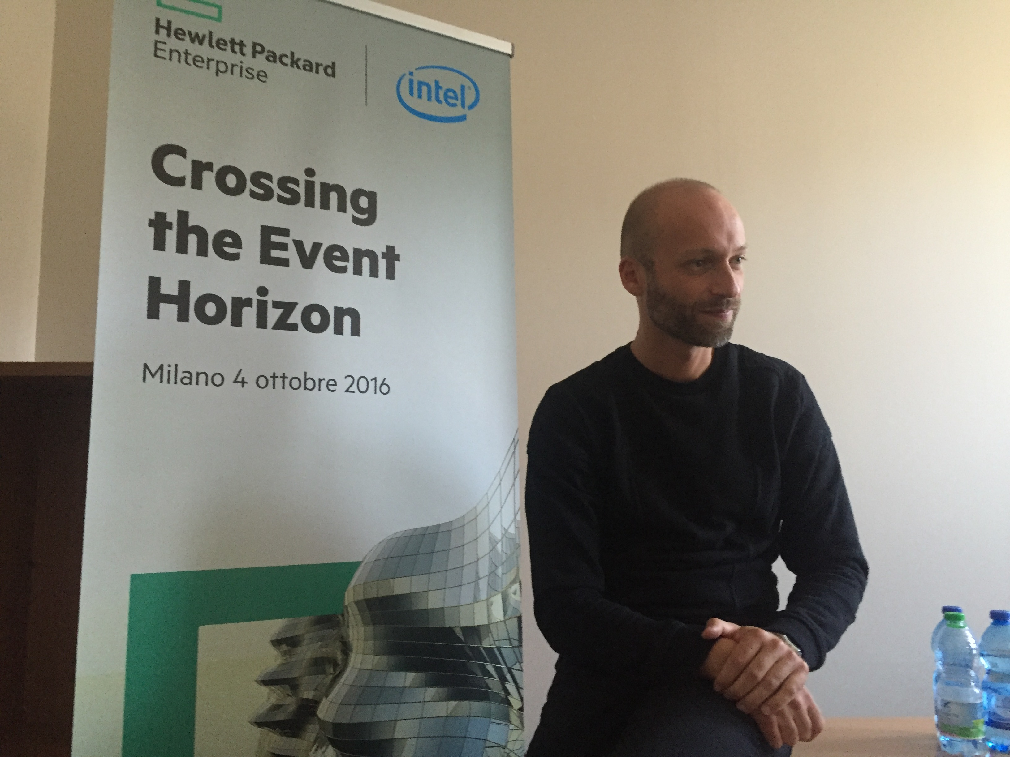 Fabio Tognon, Country Manager Divisione Server Hewlett Packard Enterprise Italia